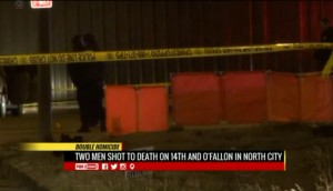 Police investigate double murder